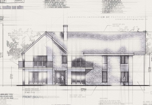residential development recently approved planning permission and commenced onsite